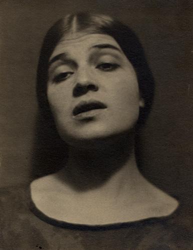 Edward Weston Tina Modotti, Mexico, 1924 3.75 x 2.5 inches vintage platinum print
