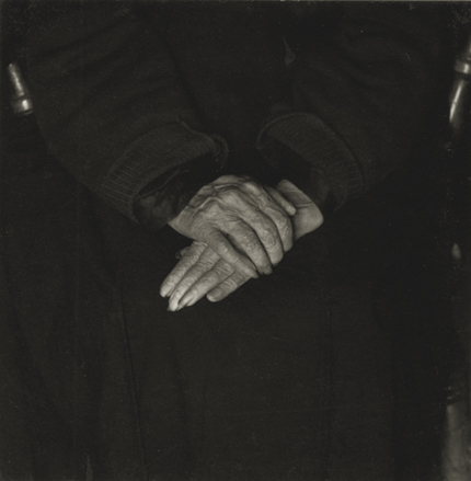 Dorothea Lange County Clare, Ireland, 1954 4.75 x 4.25 inches vintage silver print