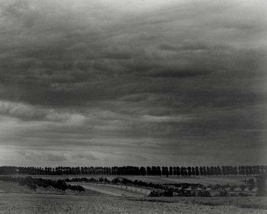 Paul Strand Ile de France, Paris Environs, France, 1951 4.6 x 5.9 inches vintage silver print