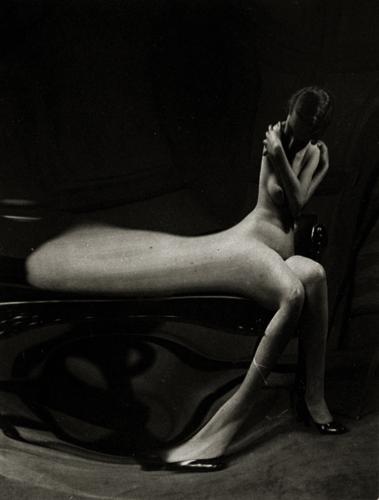 André Kertész Untitled (Nude Distortion), 1933 3 x 2.5 inches vintage silver print