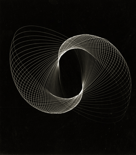 Wynn Bullock Untitled (Light Abstraction), c.1930s 4.25 x 3.75 inches vintage silver print