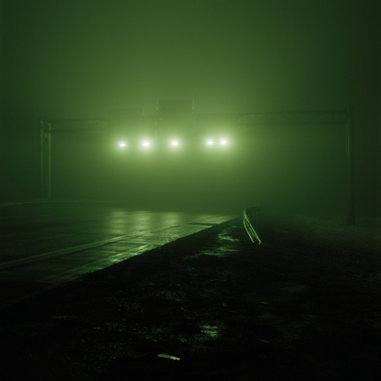 Exit 24 off of I-90, Erie, Pennsylvania, 2005 38 x 38 inches edition of 10 archival pigment print