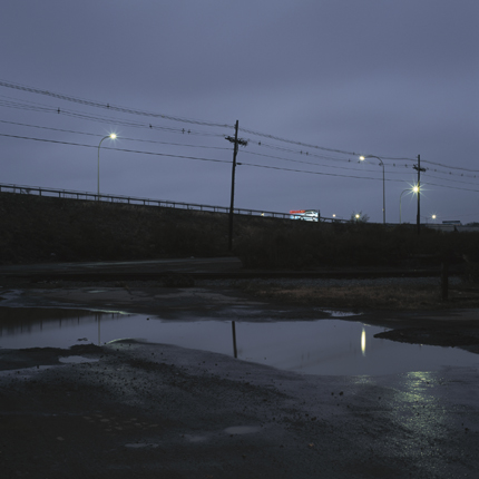 Exit 7 Off Highway 5, Buffalo, New York, 2003 38 x 38 inches edition of 10 archival pigment print
