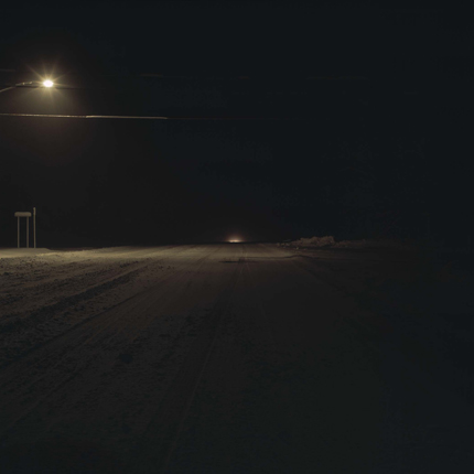 Route 199 and 9G, Red Hook, New York, 2005 38 x 38 inches edition of 10 archival pigment print