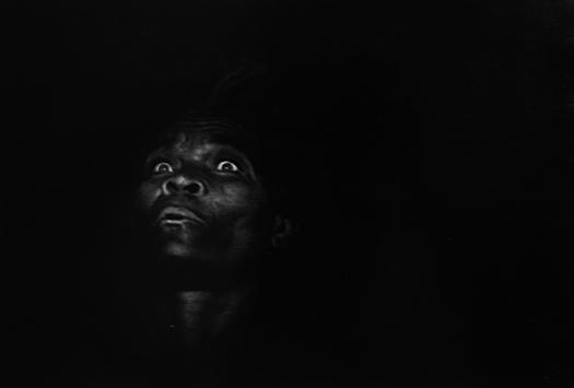 Mad Eyes, Haiti, 1959 9.5 x 13 inches silver print