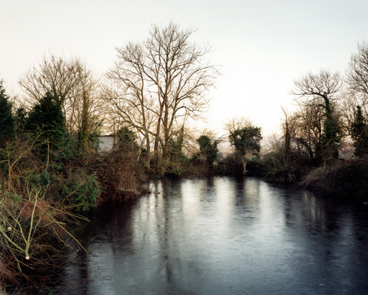 14 January 2001 from the series  Upton Pyne  27 x 34 inches edition of 8 chromogenic dye coupler print