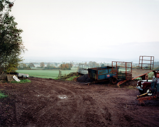 10 November 2001 from the series  Upton Pyne  27 x 34 inches edition of 8 chromogenic dye coupler print