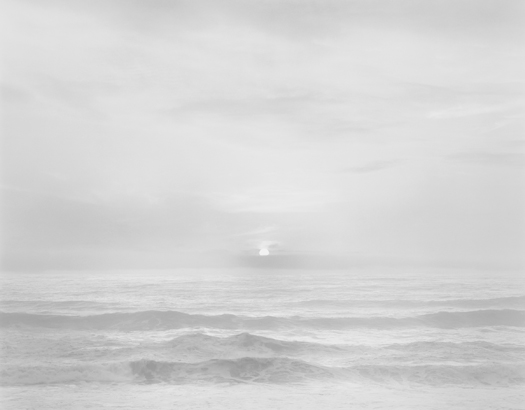 Sunset, Bonny Doon Beach, 2002 20 x 24 inches (edition of 25) 26 x 32 inches (edition of 10) 44 x 56 inches (edition of 5) silver print