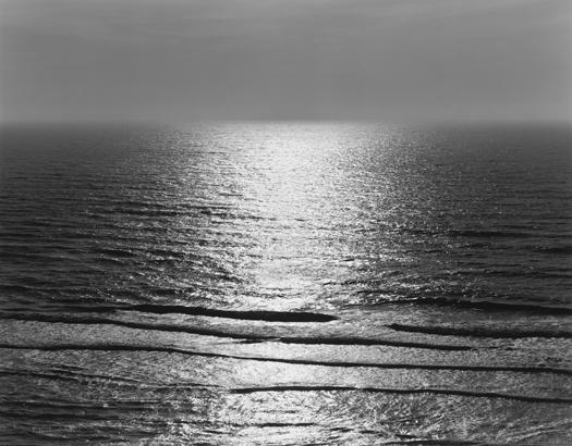 Tide, Pescadero, 2001 20 x 24 inches (edition of 25) 26 x 32 inches (edition of 10) 44 x 56 inches (edition of 5) silver print
