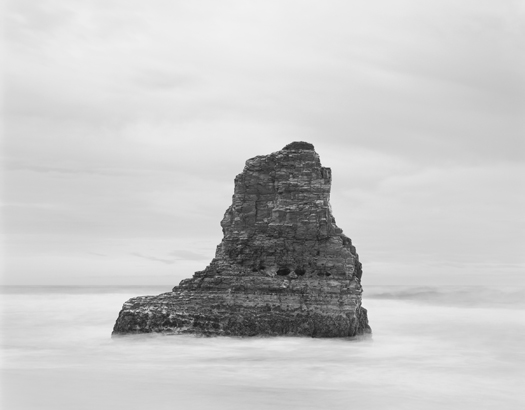 Davenport Rock, 2002 20 x 24 inches (edition of 25) 26 x 32 inches (edition of 10) 44 x 56 inches (edition of 5) silver print