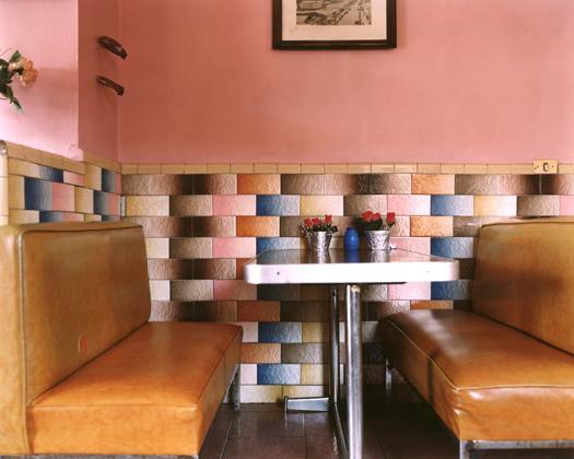 Café Merino, 2001 30 x 40 inches edition of 10 chromogenic dye coupler print
