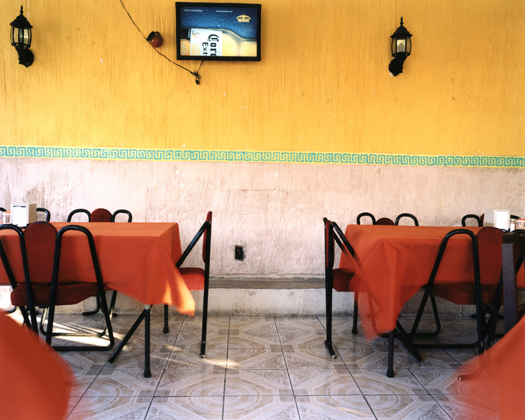 Campeche 'Del Parque', 2004 30 x 40 inches edition of 10 chromogenic dye coupler print