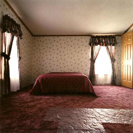 Pink Bed, 1995 30 x 40 inches edition of 10 chromogenic dye coupler print
