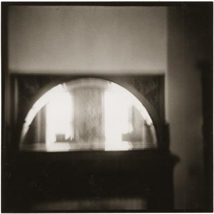 Mirror, Pomeroy, Ohio, 1971 10 x 8 inches vintage silver print