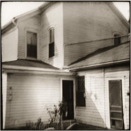 Folding House, New Lexington, Ohio, 1974 10 x 8 inches vintage silver print