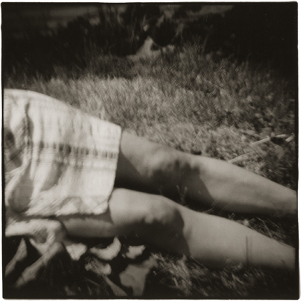 Mother's Knees, 1976 10 x 8 inches vintage silver print