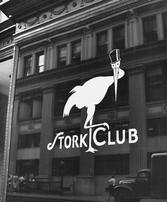 Untitled (Stork Club, New York), 1943  9 x 7.75 inches vintage silver print