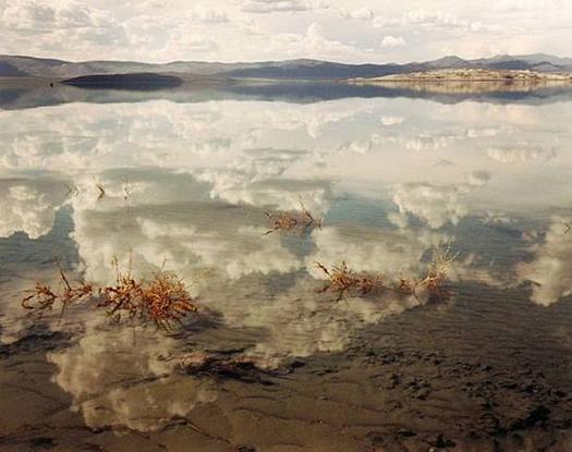 Mono Lake #2, California, 1999  chromogenic dye coupler print 40 x 50 inches
