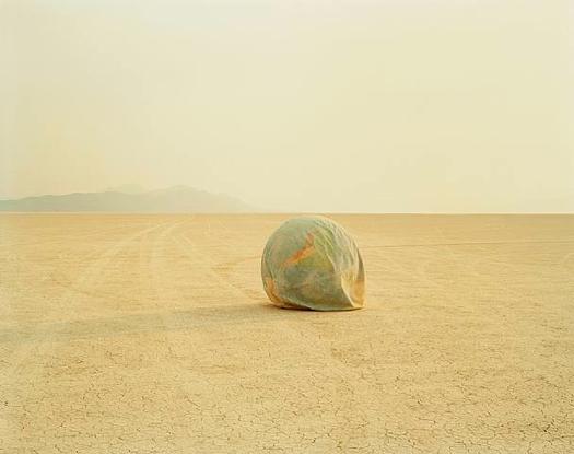 Desert Croquet #1 (Deflated Earth), 1987  chromogenic dye coupler print 20 x 24 inches