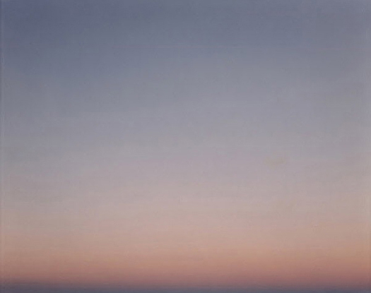 Winnemucca 9.29.95 6:50 pm (Desert Cantos XVIII: Skies), 1995  unique chromogenic dye coupler print with laminate surface 48 x 60 inches
