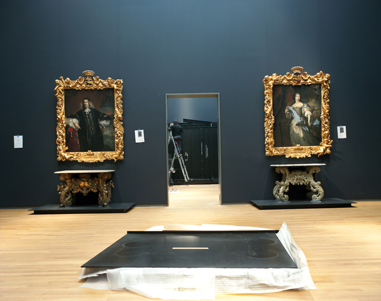 Rijksmuseum #25, January 2013 16 x 20 inches 36 x 43 inches edition of 10 chromogenic dye coupler print
