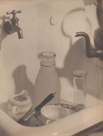 The Kitchen Sink, 1919  vintage platinum/palladium print 8.25 x 6.5 inches