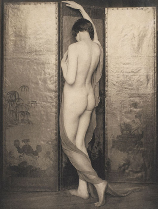 Untitled (nude woman), 1924  vintage platinum/palladium print 8 x 6 inches
