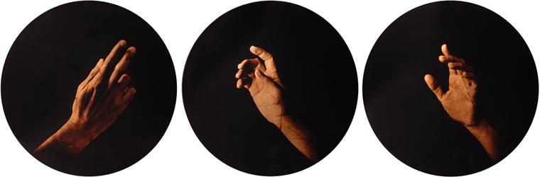 Estudio de la Anunciación de del Sarto, 2006 (in collaboration with Graciela de Oliveira) edition of 3 archival pigment prints