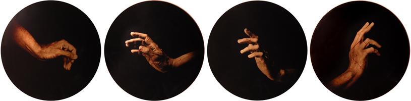 Estudio de la Anunciación de Botticelli, 2006 (in collaboration with Graciela de Oliveira) edition of 3 archival pigment prints