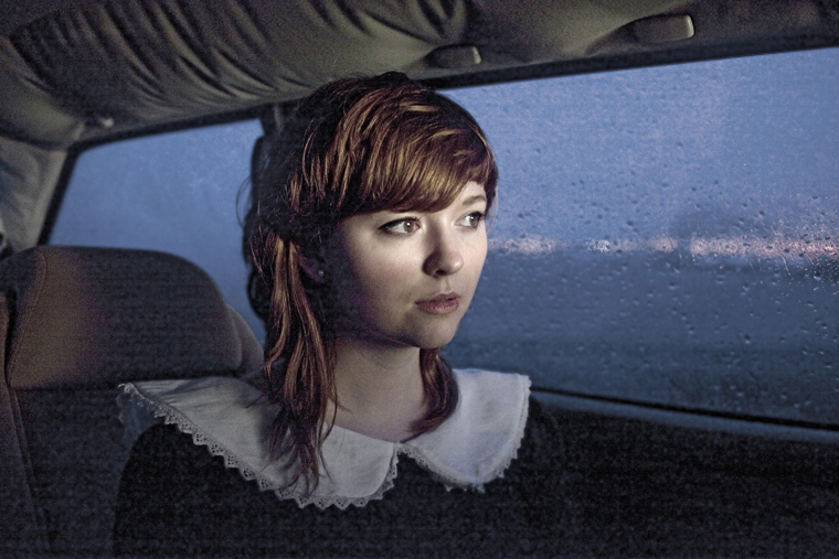 Hildur in Her Car, Mosfellbaer, 2012 from the series  Ísland  24 x 35.5 inches / 60 x 90 cm (edition of 8) 29.5 x 43.5 inches / 75 x 110 cm (edition of 8) archival pigment print