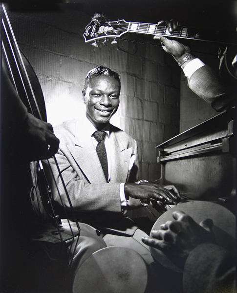 Nat King Cole, NYC, 1949 silver print 20 x 16 inches from a limited edition of 30