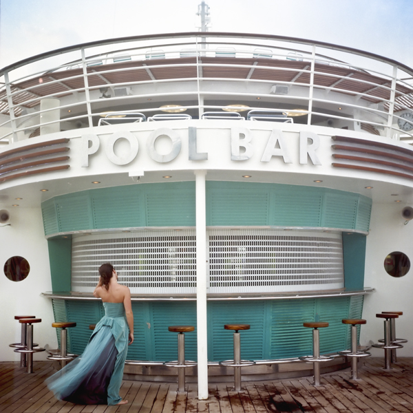 Pool Bar, Self Portrait, Miami, Florida, 2005 from the series  You Look At Me Like An Emergency  14 x 14 inches (edition of 10) 28 x 28 inches (edition of 5) 40 x 40 inches (edition of 7) chromogenic dye coupler print