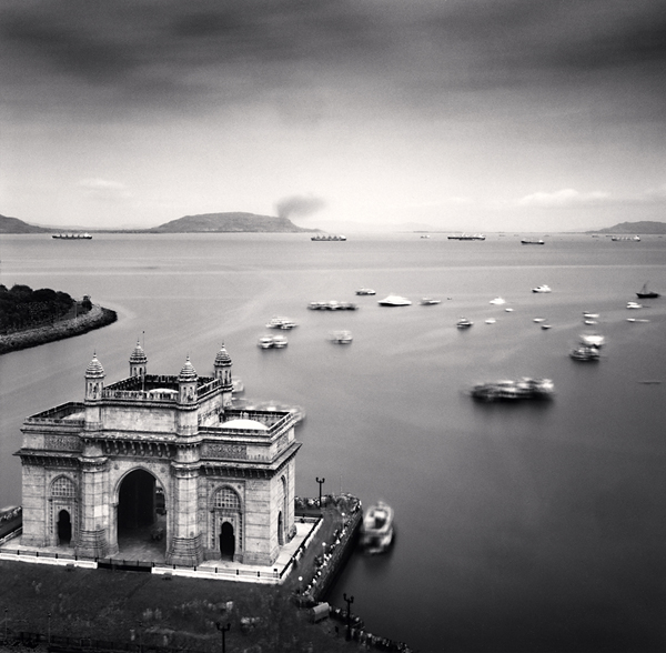 Gateway of India, Mumbai, 2006 7.75 x 7.75 inches edition of 45 toned silver print