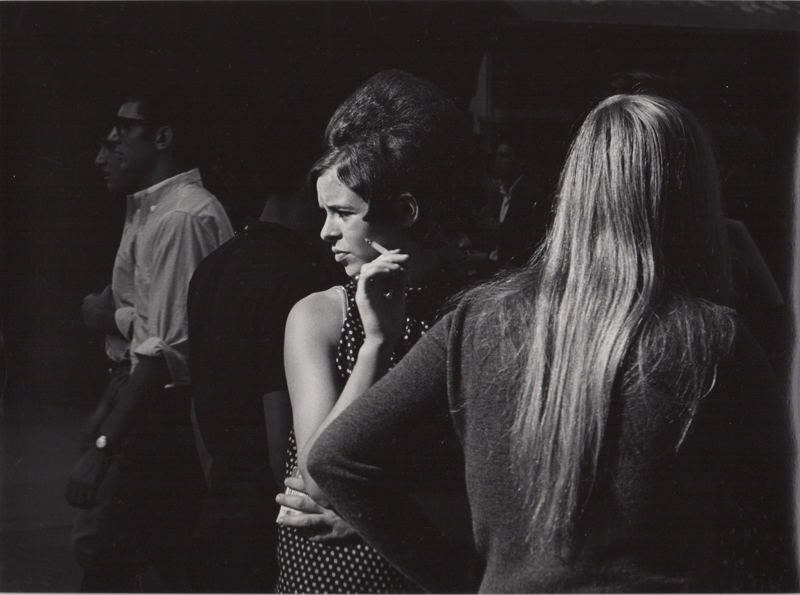 Untitled (woman holding cigarette) , c. 1960's  Vintage silver print  8 x 10 inches