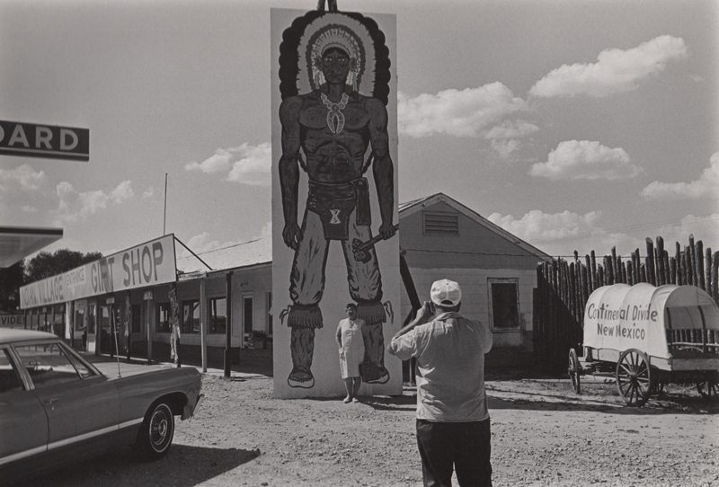 Untitled (man photographing woman), New Mexico , 1968  Vintage silver print  8 x 10 inches