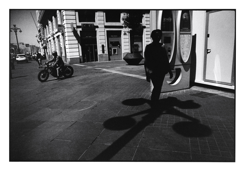 John Mack   Untitled, from the series Marseille , 2014 Silver print 16 x 20 inches Edition of 15