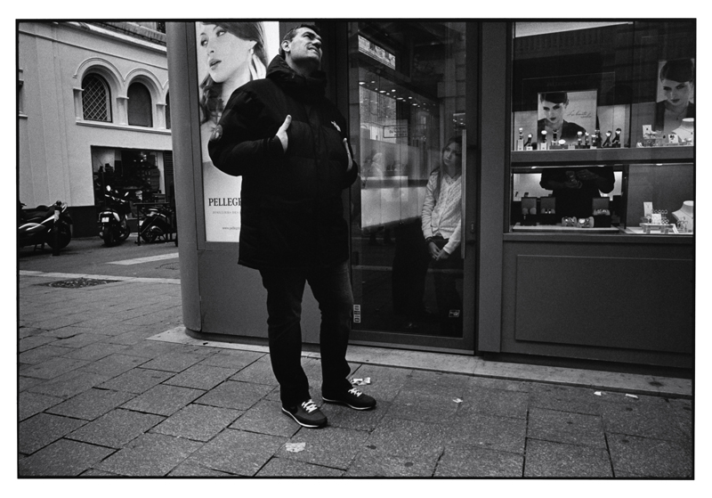 John Mack   Untitled, from the series Marseille , 2011 Silver print 16 x 20 inches Edition of 15