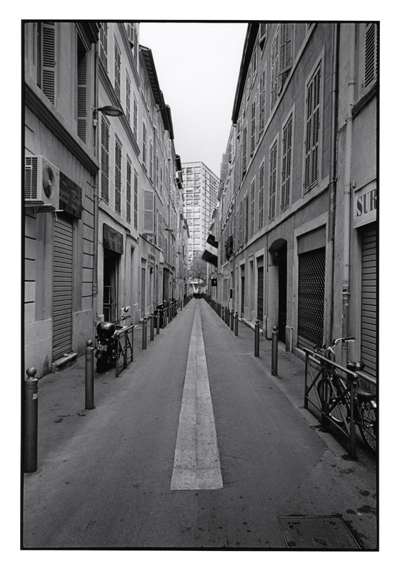 John Mack   Untitled, from the series Marseille , 2011 Silver print 20 x 16 inches Edition of 15