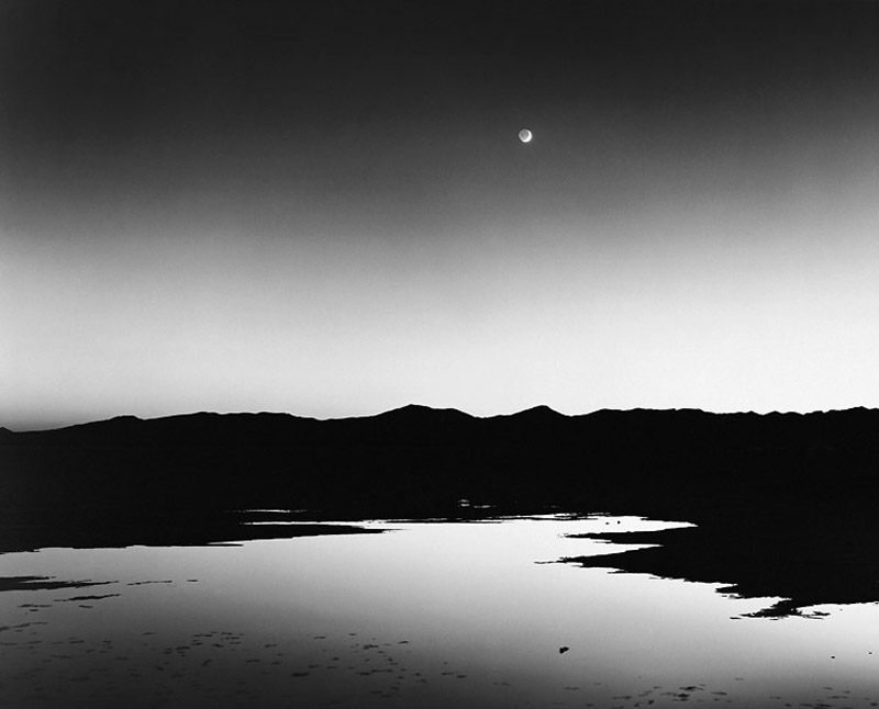 Chip Hooper   Dusk, Bonneville Salt Flats , 1999 Silver print 20 x 24 inches 26 x 36 inches All inclusive edition of 40