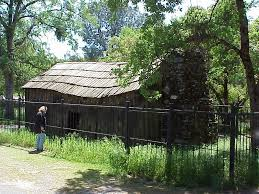 Mark Twain cabin by Wikimedia.com