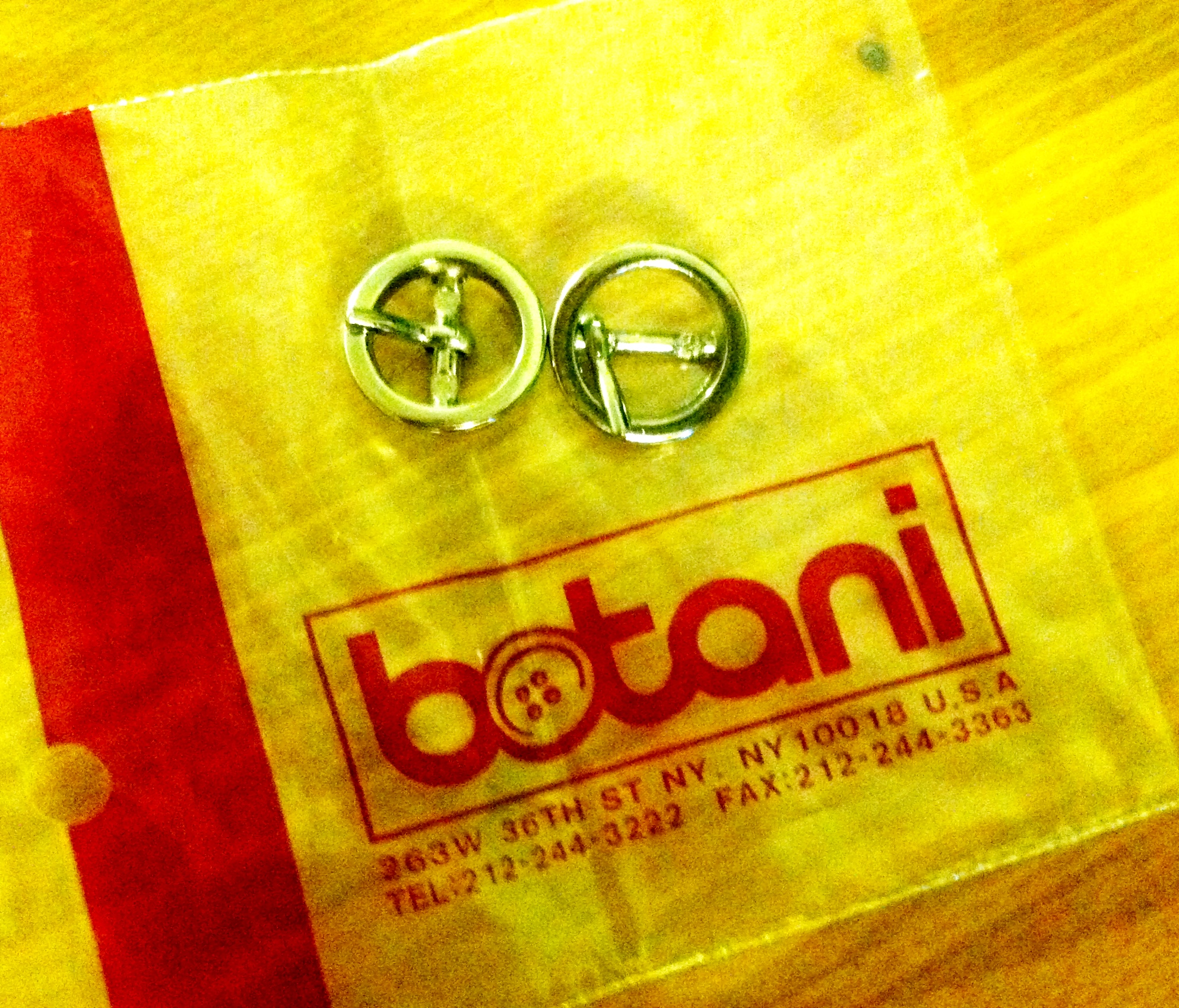 Adorable buckles from Botani