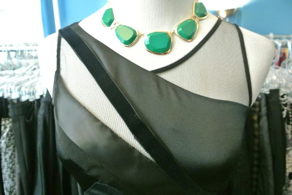 Green necklace ($37.99)