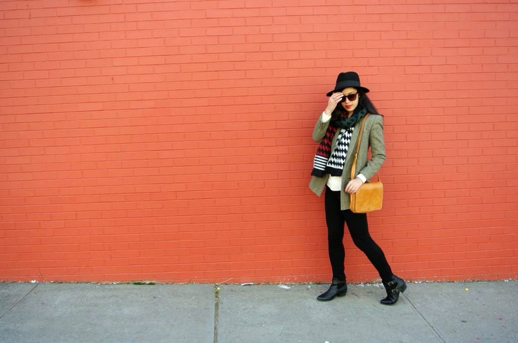thrifted fashion