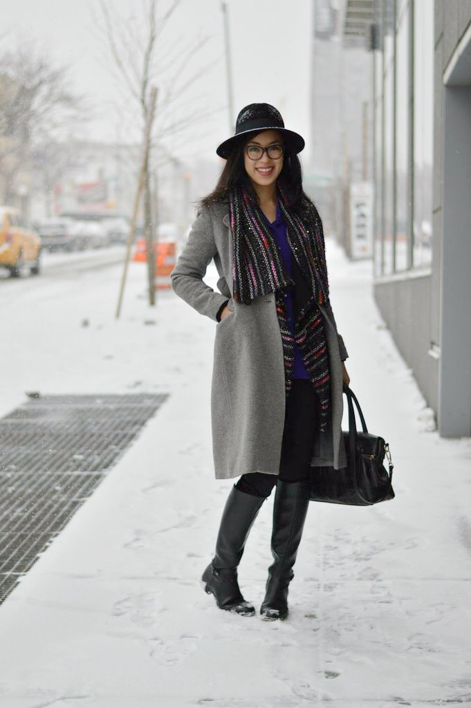 thrifted fashion blogger