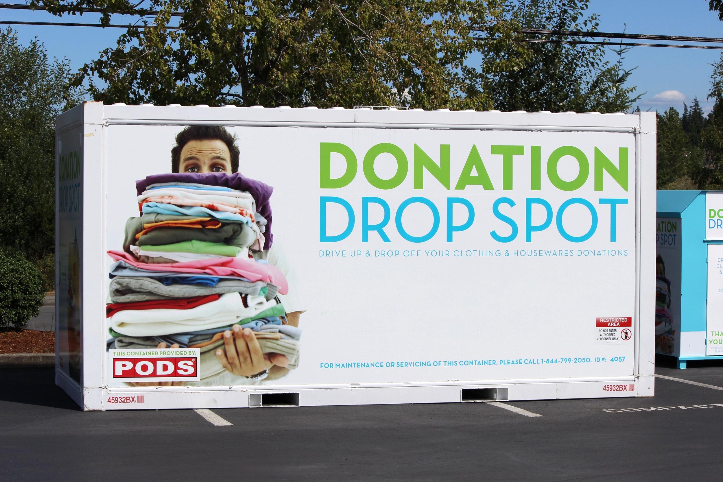 Savers Donation Drop Spot