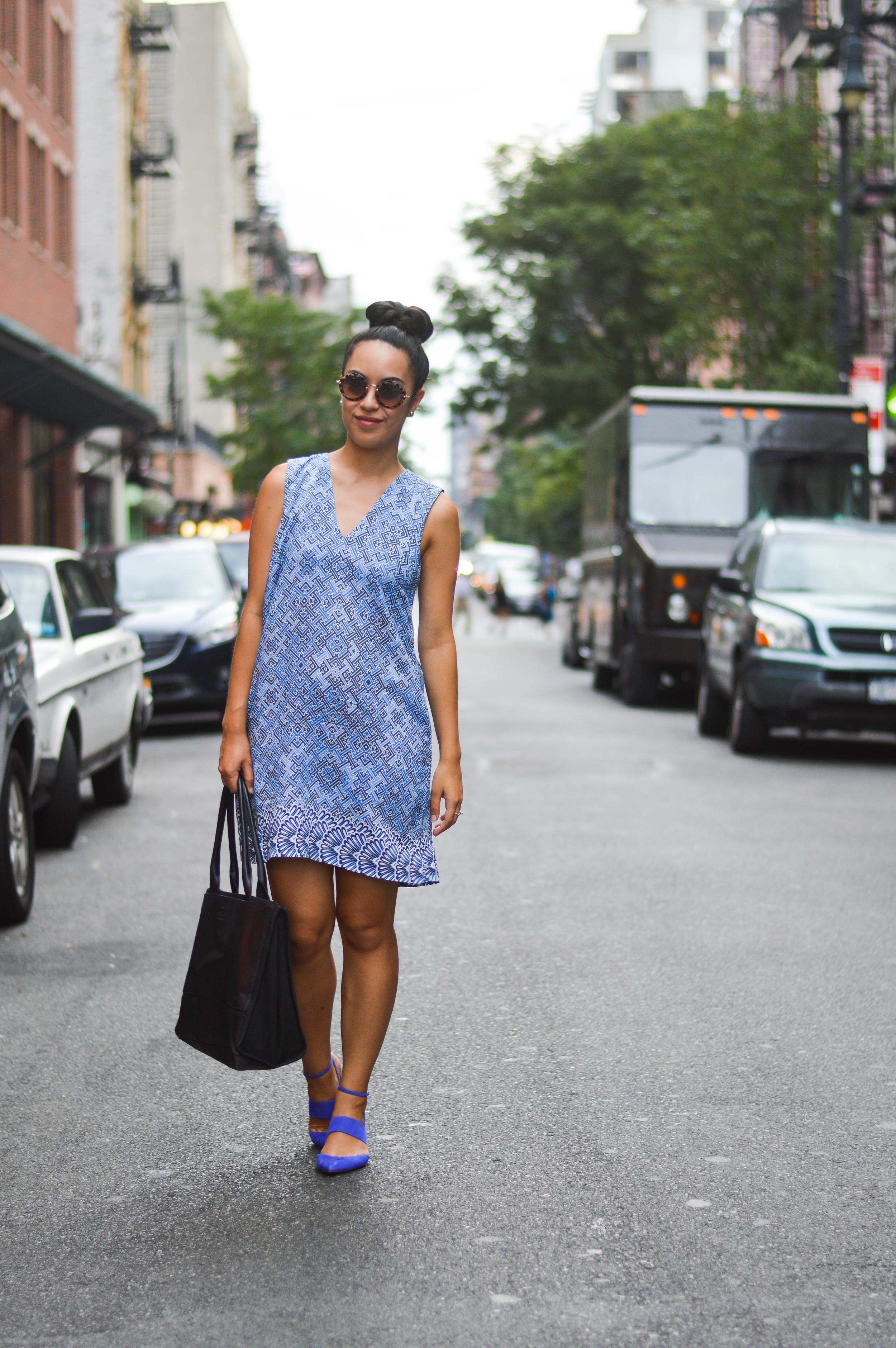 asos africa blogger dress