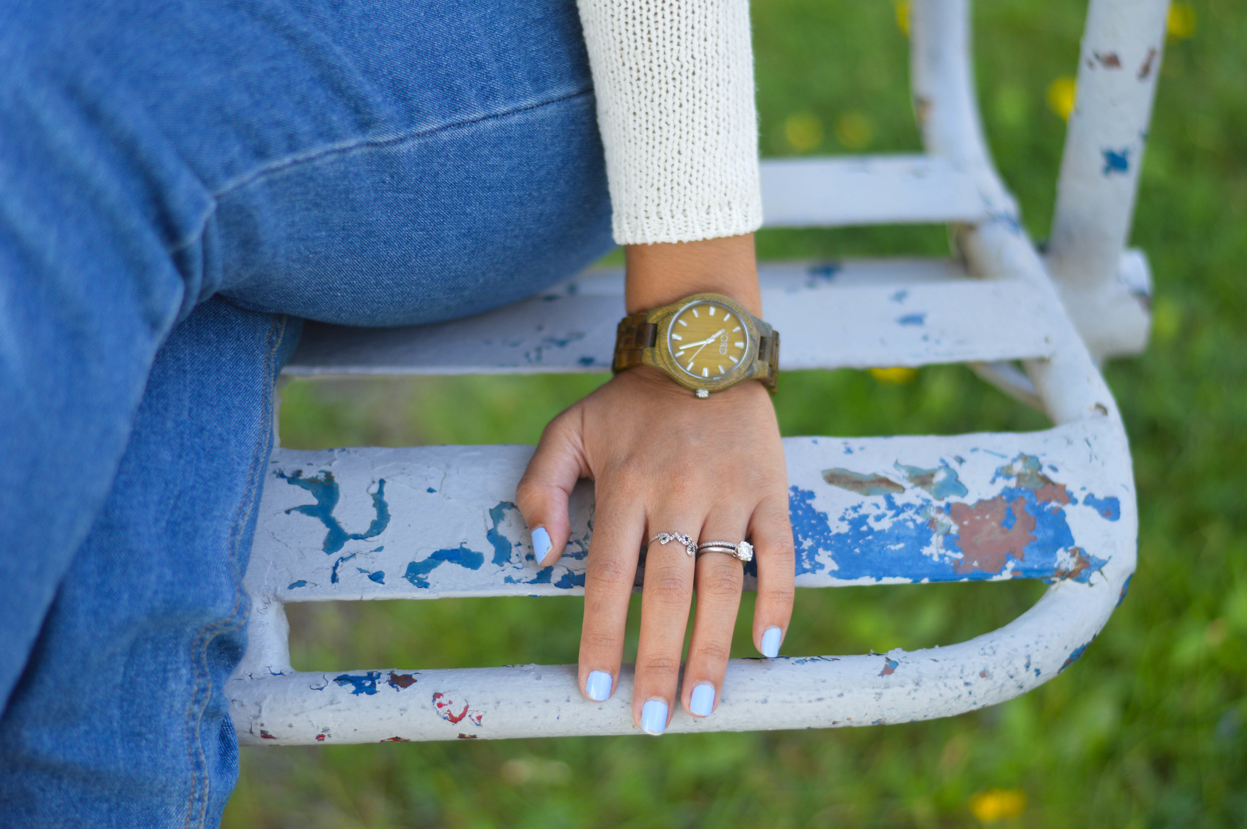 womens wood watch