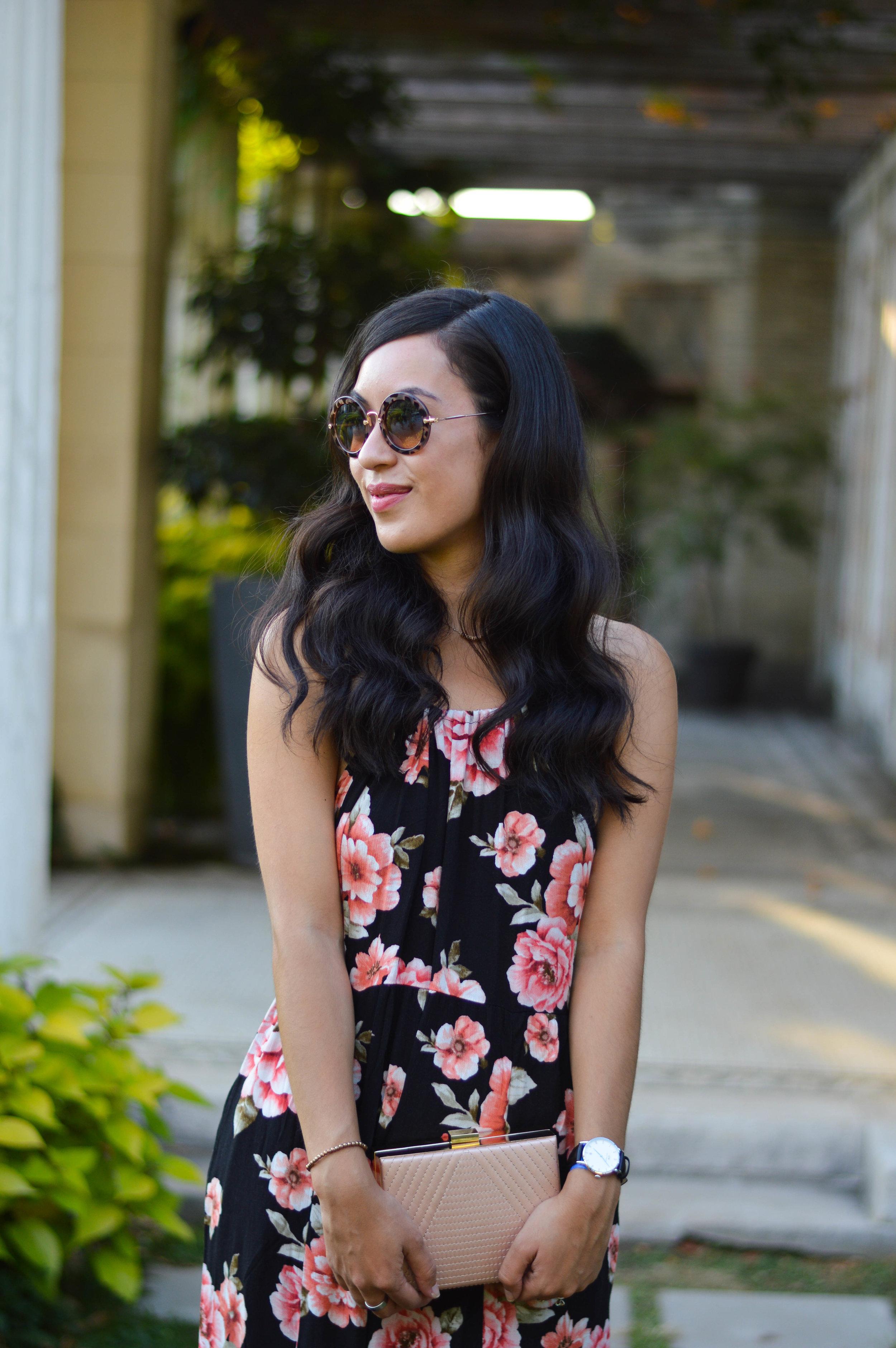 forever 21 maxi dress blogger