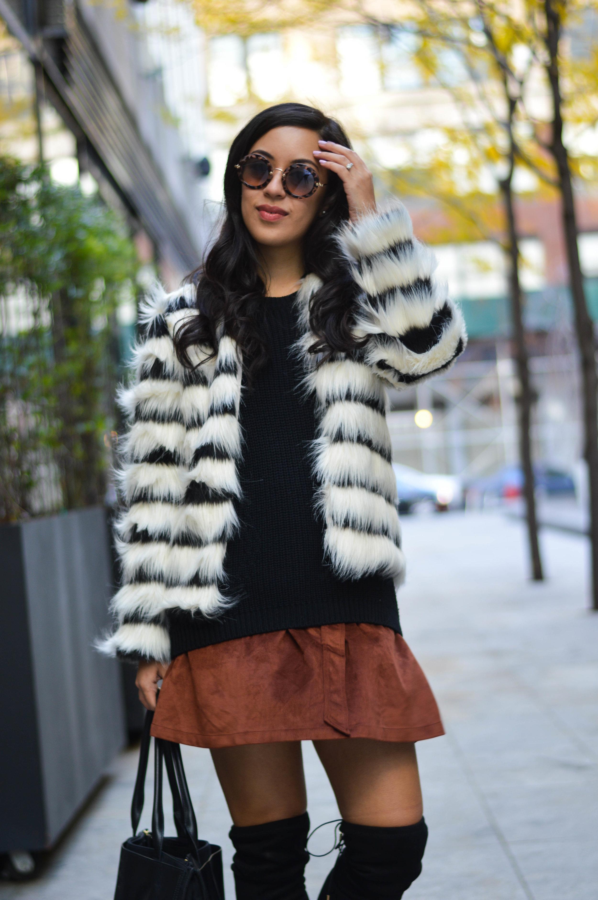 make me chic fur