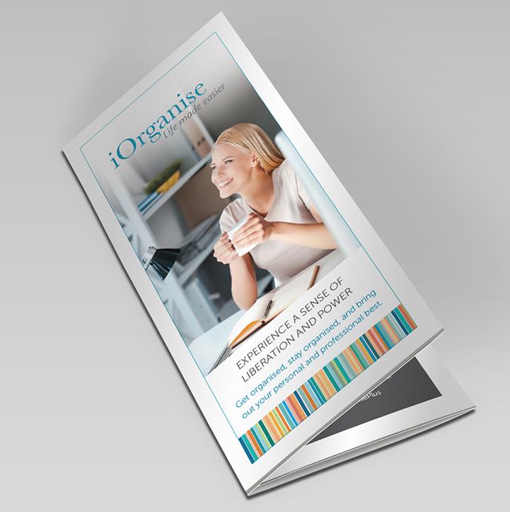 iOrganise DL Trifold Brochure